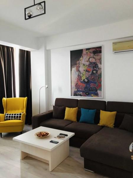 Apartament 2 Camere - Zona Compozitori - Mobilat/Utilat - Loc De Parcare