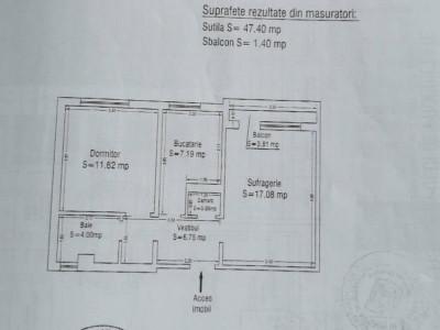 Apartament 2 Camere - Tomis Nord - Parter - Centrala Gaze Noua !