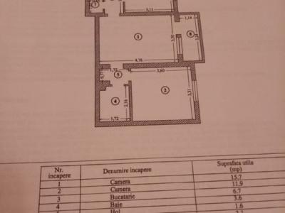 Apartament 2 Camere - Zona Tomis II - Renovat 2021 - Centrala pe Gaze